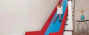 convertir escalera en tobogan