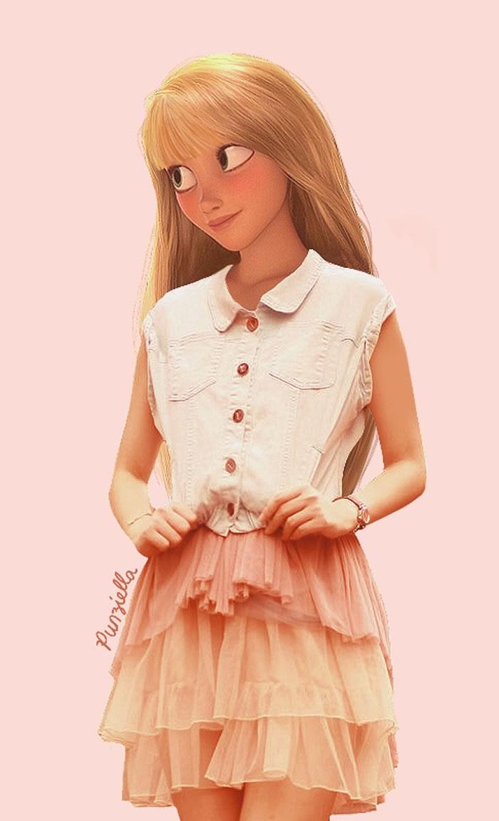 rapunzel-disney-princess-punziella-fashion-tangled