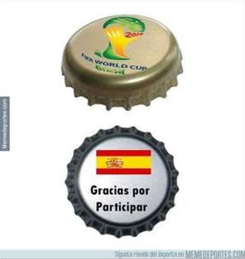 memes eliminacion espana mundial 2014 - 13