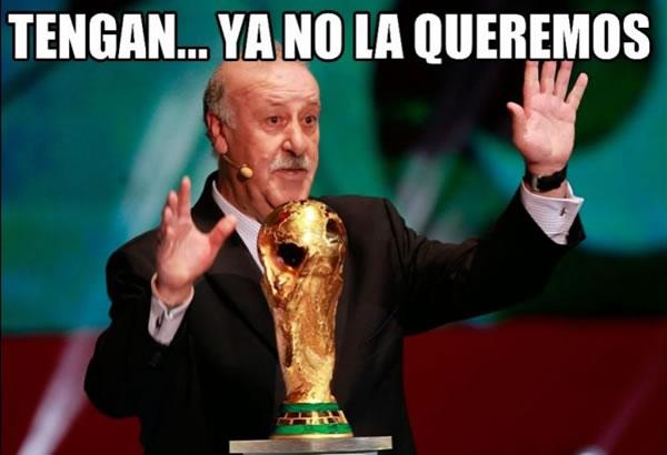 memes eliminacion espana mundial 2014 - 15