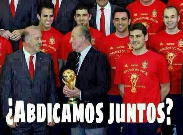 memes eliminacion espana mundial 2014 - 16
