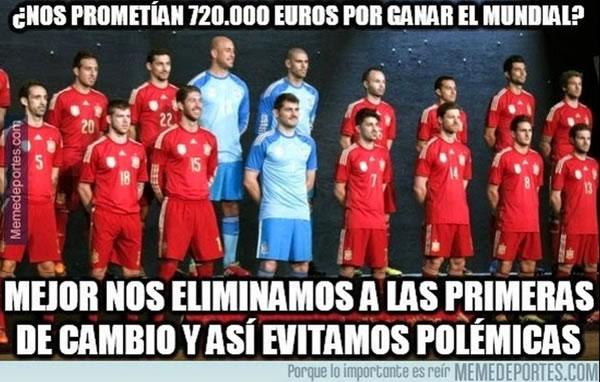 memes eliminacion espana mundial 2014 - 17