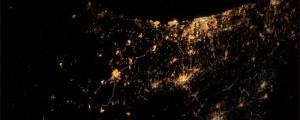 fotografia mas triste del mundo tomada desde el espacio
