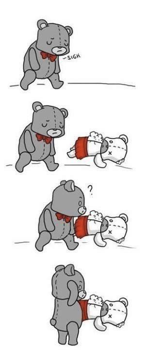 historia de amor del oso de peluche - 01