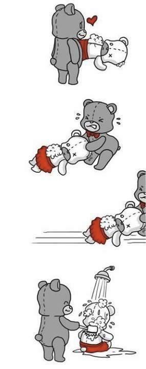 historia de amor del oso de peluche - 02
