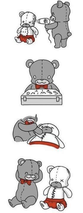 historia de amor del oso de peluche - 03