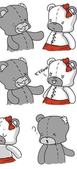 historia de amor del oso de peluche - 06