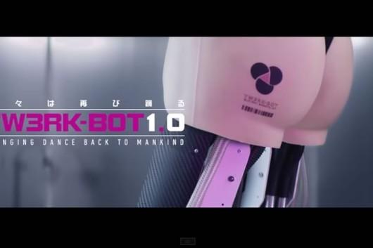 robot que hace twerking
