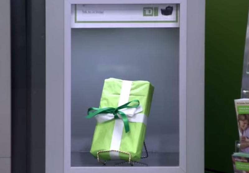Banco-TD-Canada-Trust-cajero-automatico-agradecimiento-regalo