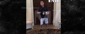 charlie sheen reto de la cubeta de agua con hielo