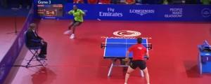 impresionante punto de ping pong de 41 golpes