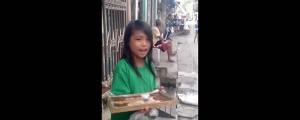 nina vendedora de kakanin asombra con su voz