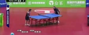 partido de ping pong mas divertido del mundo