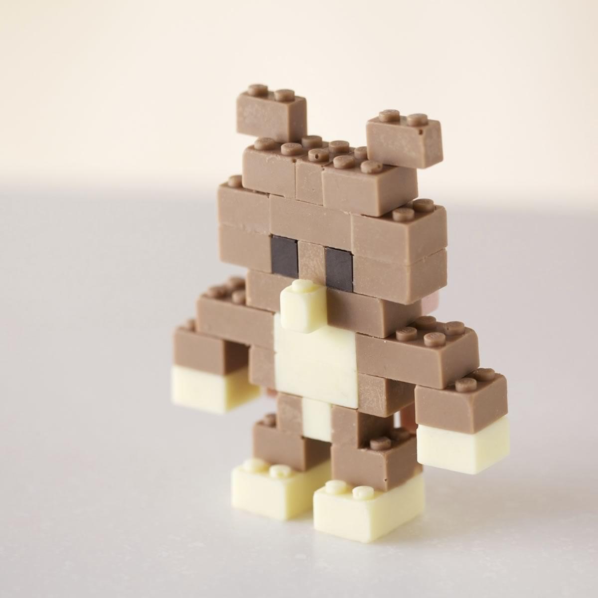 piezas de lego hechas de chocolate - 01