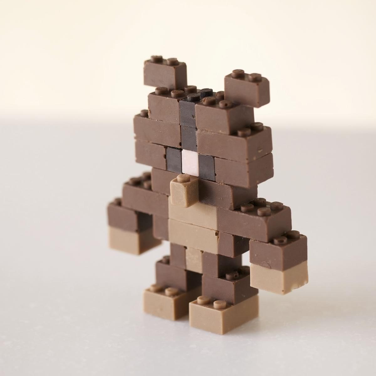 piezas de lego hechas de chocolate - 02