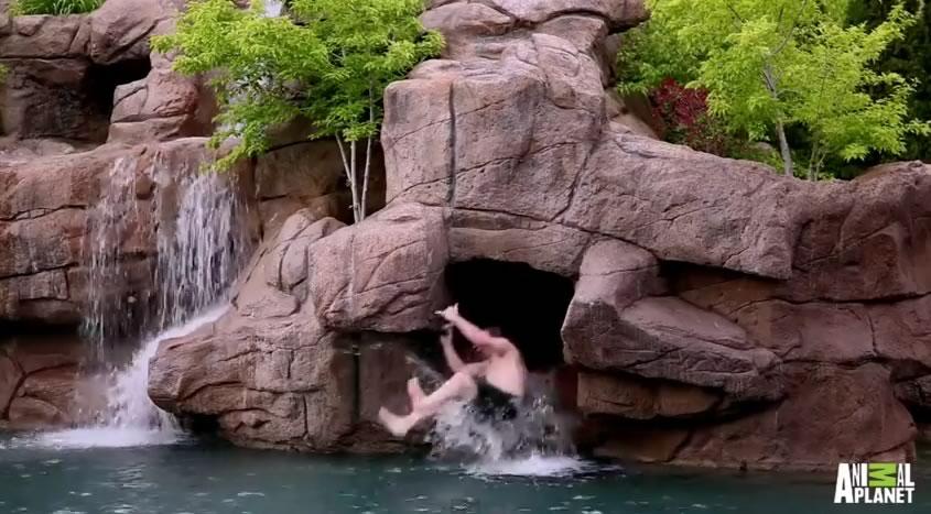 piscina mas cara del mundo - tobogan