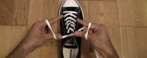 truco para atar pasadores del zapato en 1 segundo