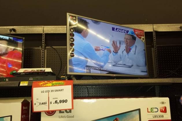 bodega aurrera vende televisor a 70 centavos - aviso