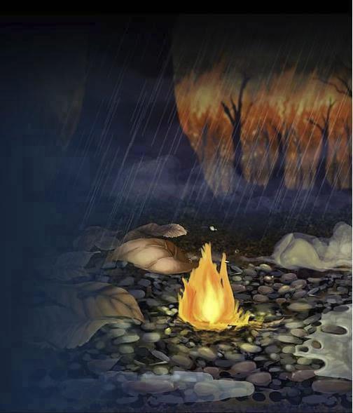 historia de amor de la gota de agua y la llama de fuego - 01