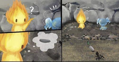 historia de amor de la gota de agua y la llama de fuego - 10