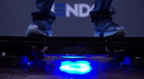 mira el verdadero skate flotante de volver al futuro hendo hoverboards