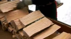 truco para cortar lena de manera rapida y eficiente