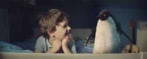 tierna historia de navidad de sam y su pinguino monty