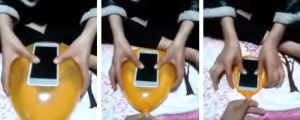 como convertir un globo en un case para smartphone