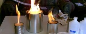 como hacer calefactor casero contra el frio