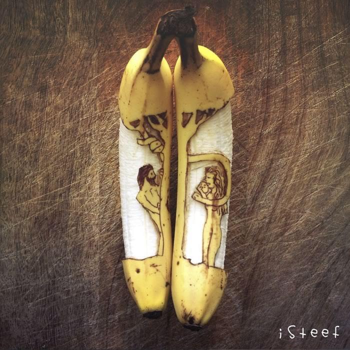 bananas convertidas en obras de arte - 02
