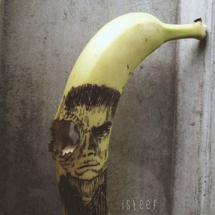 bananas convertidas en obras de arte - 07
