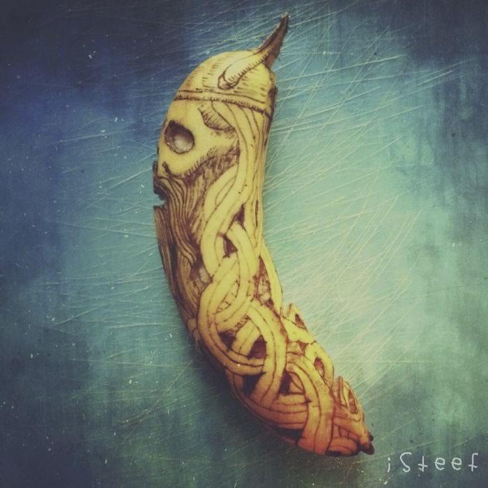 bananas convertidas en obras de arte - 09