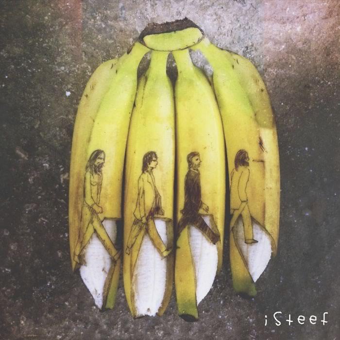 bananas convertidas en obras de arte - 10