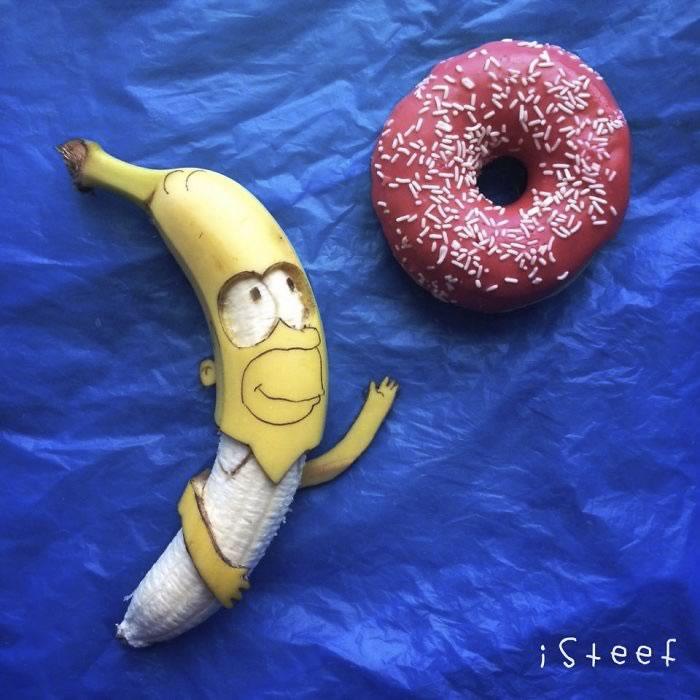 bananas convertidas en obras de arte - 11