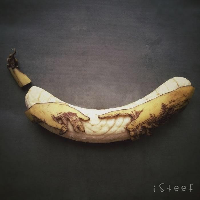 bananas convertidas en obras de arte - 12