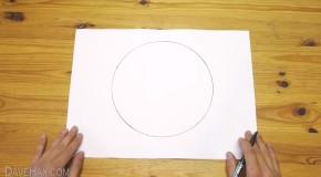 como dibujar un circulo perfecto a mano alzada