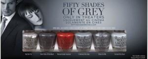 esmaltes para unas de fifty shades of grey