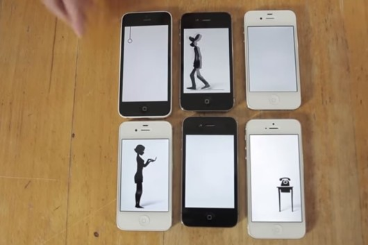 romantico videoclip hecho con iphones ipads y ipods touch